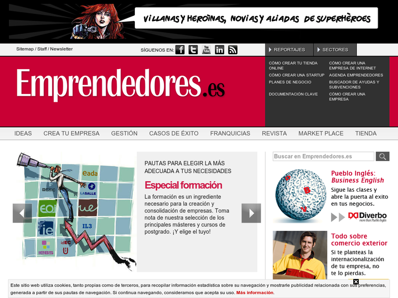 Images from Revista Emprendedores