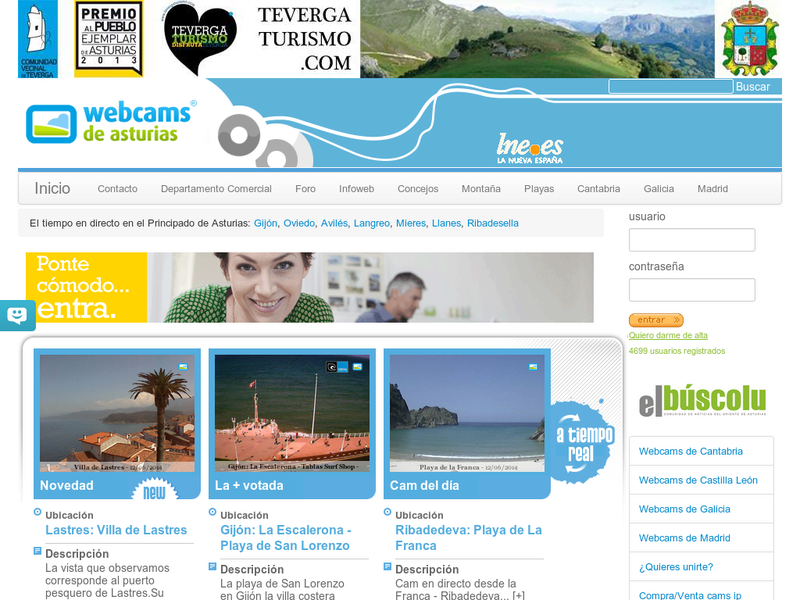 Images from Webcams de Asturias