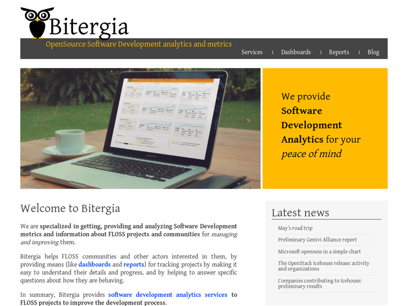 Images from Bitergia