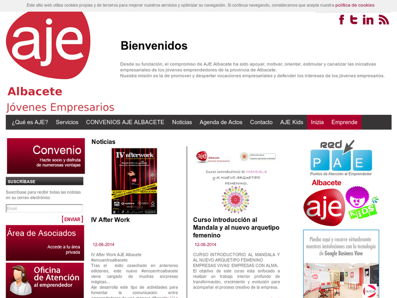 Images from AJE Albacete