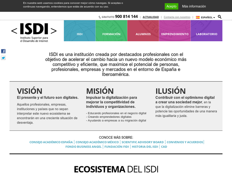 Images from ISDI (Instituto Superior Desarrollo Internet) - Barcelona