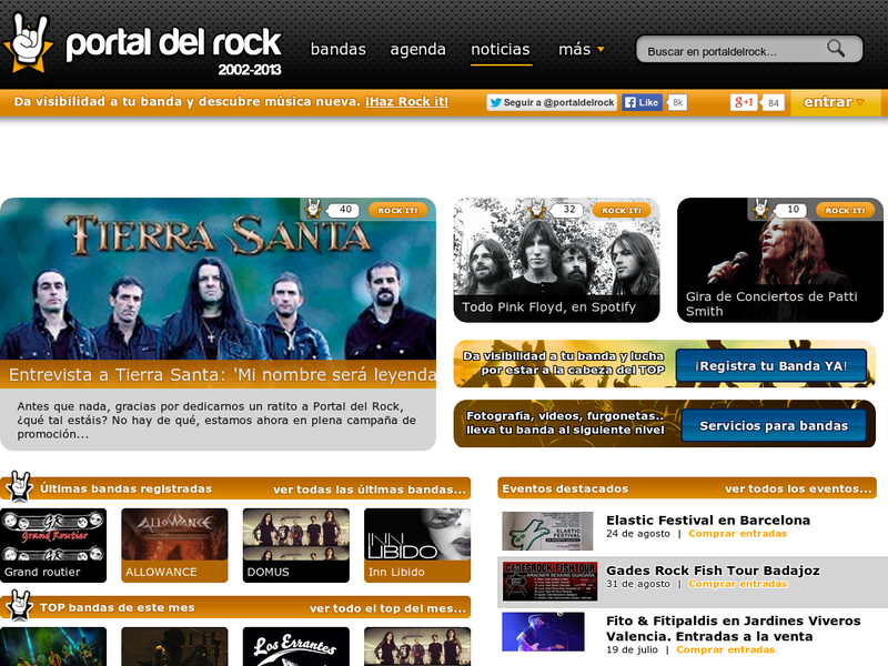 Images from Portal del Rock