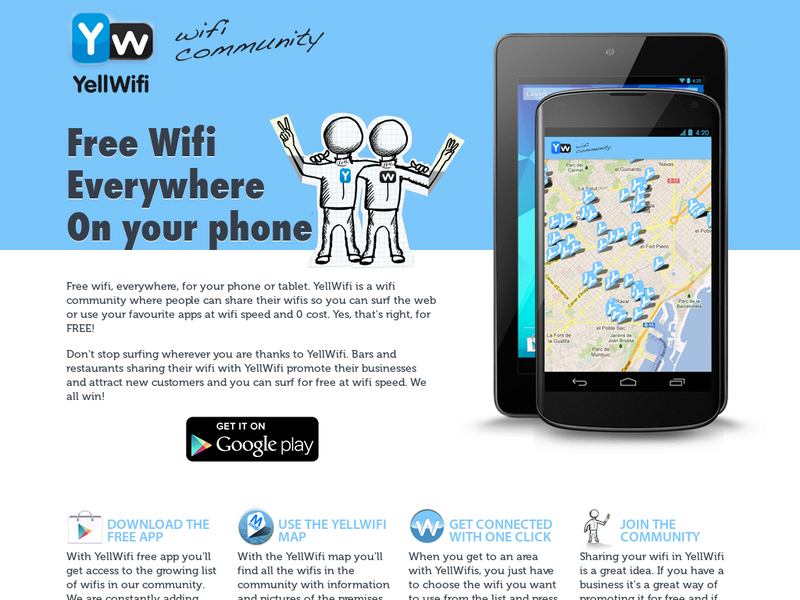 Images from YellWiFi