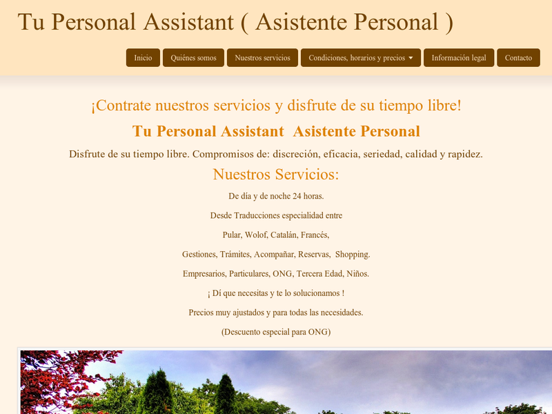 Images from Tu Personal Assistant