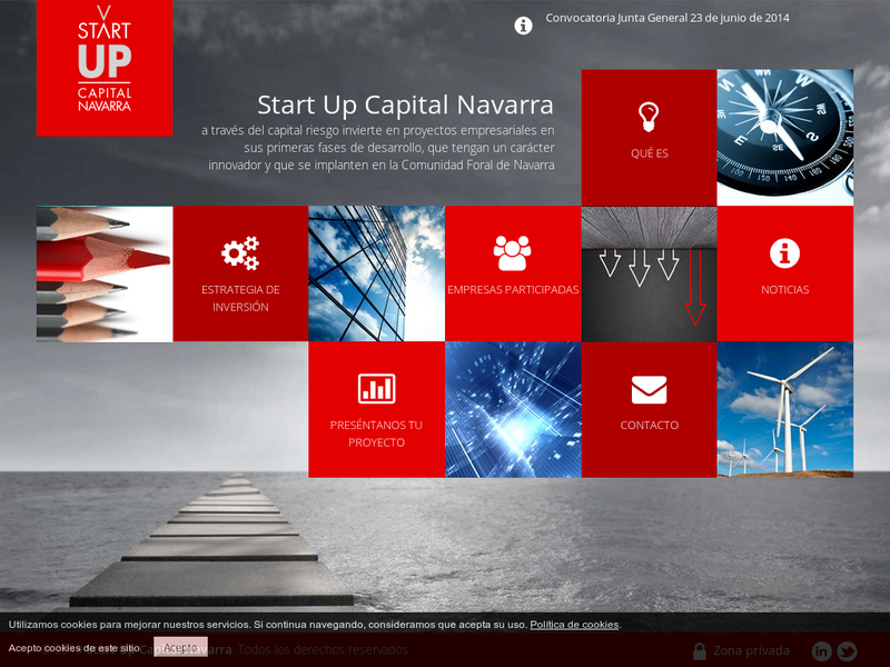 Images from Start Up Capital Navarra