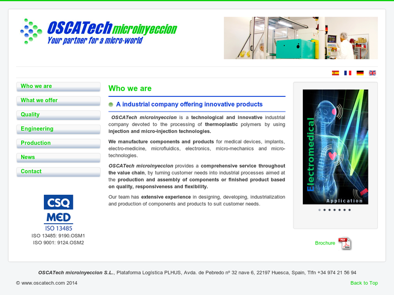 Images from OSCAtech