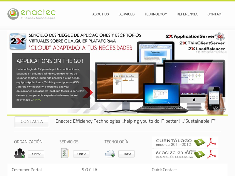 Images from Enactec Efficiency Technologies