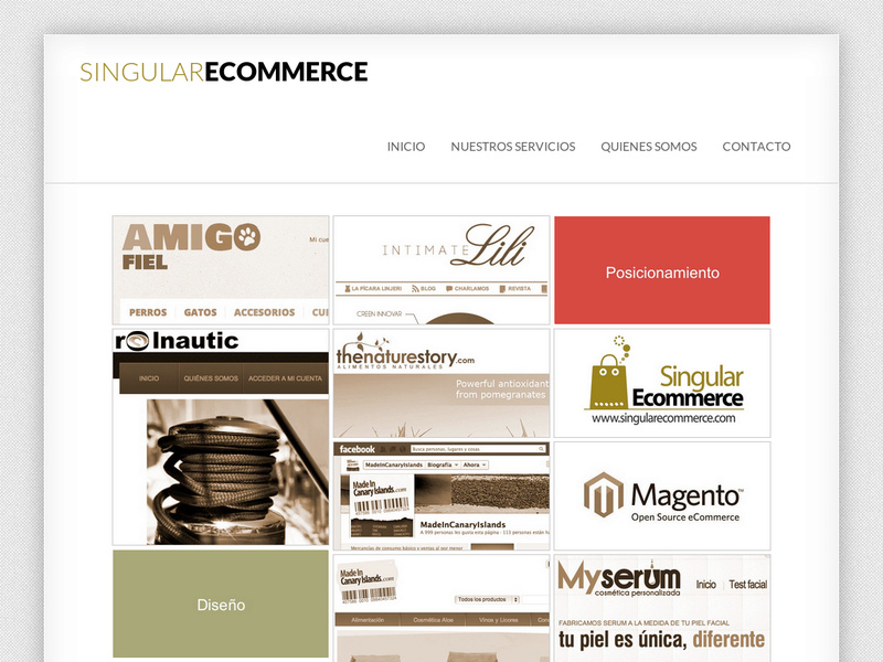 Images from Singular Ecommerce