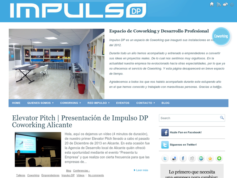 Images from Impulso DP Coworking Alicante