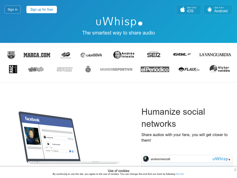 Images from uWhisp