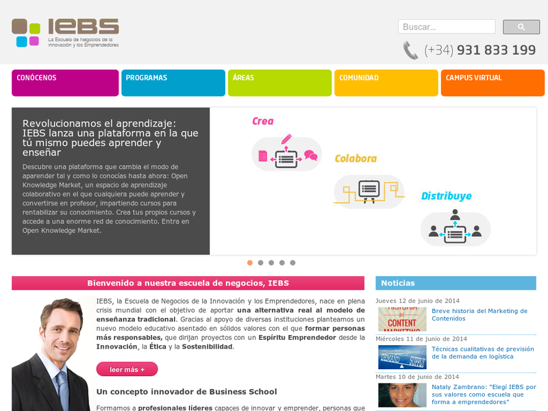 Images from IEBS Business School