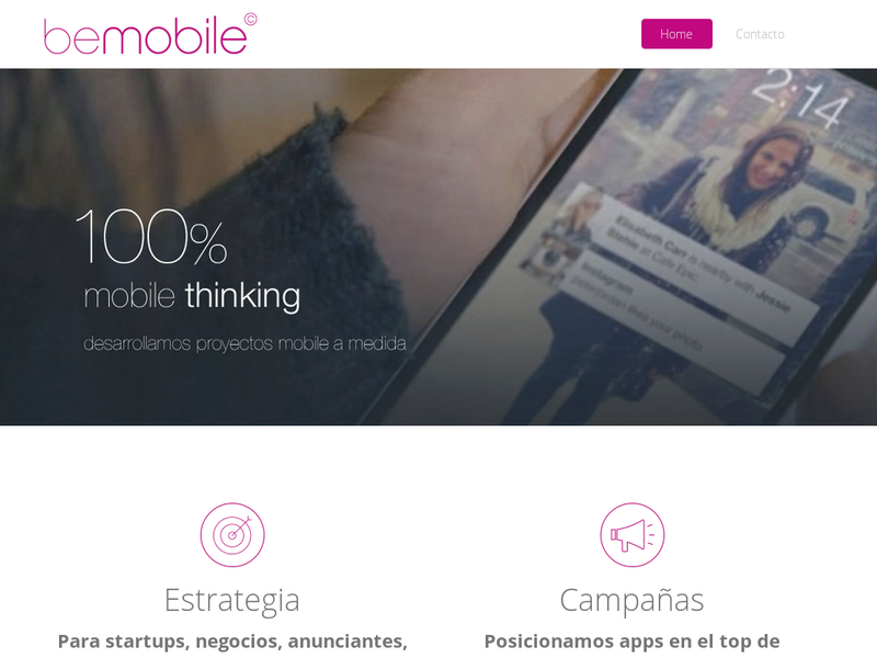 Images from beMobile - Mobile Thinking