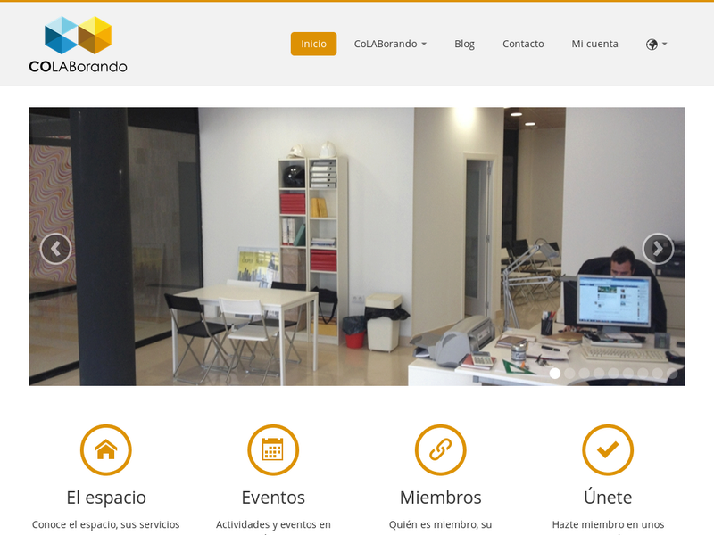 Images from COLABORANDO espacio coworking