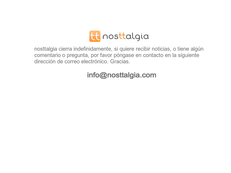 Images from nosttalgia