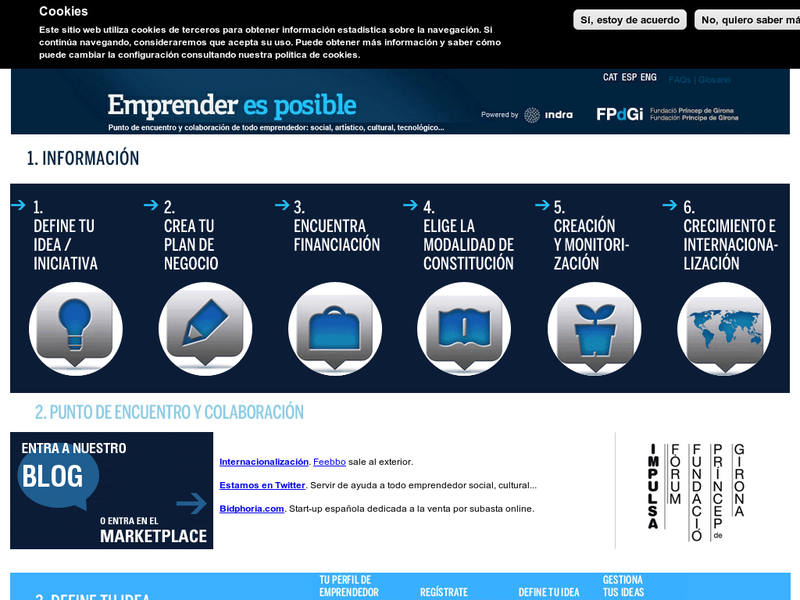 Images from Emprender es posible