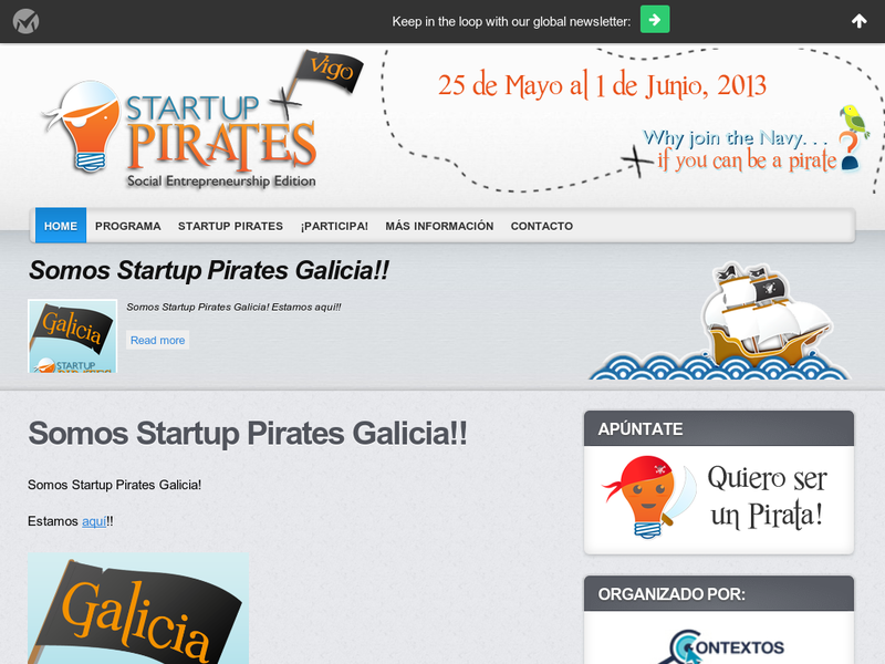 Images from Startup Pirates Vigo