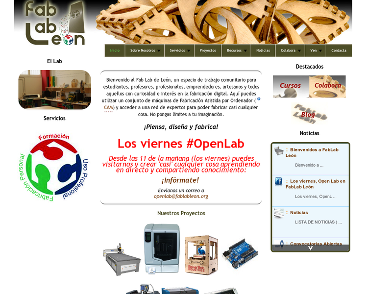 Images from Fab Lab León