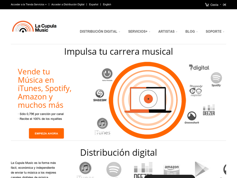 Images from La Cupula Music