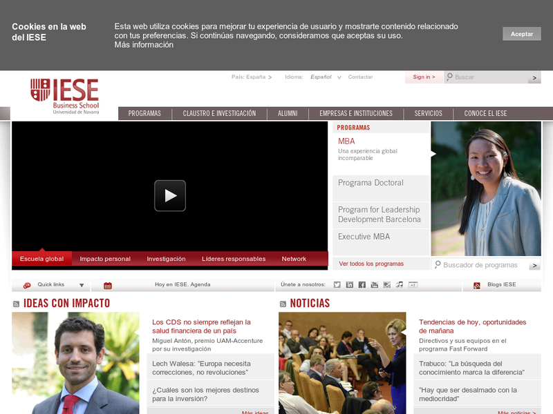 Images from IESE Business School
