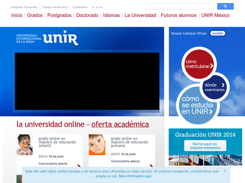 Images from Universidad Internacional de la Rioja (UNIR)