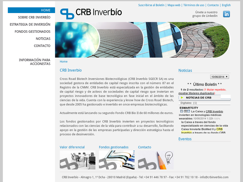 Images from CRB Inverbío - Cross Road Biotech