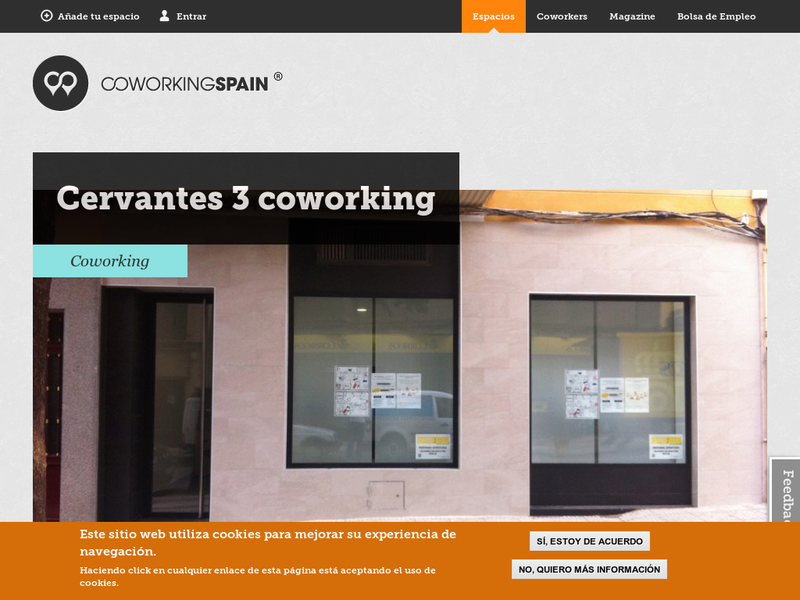 Images from Cervantes 3 coworking