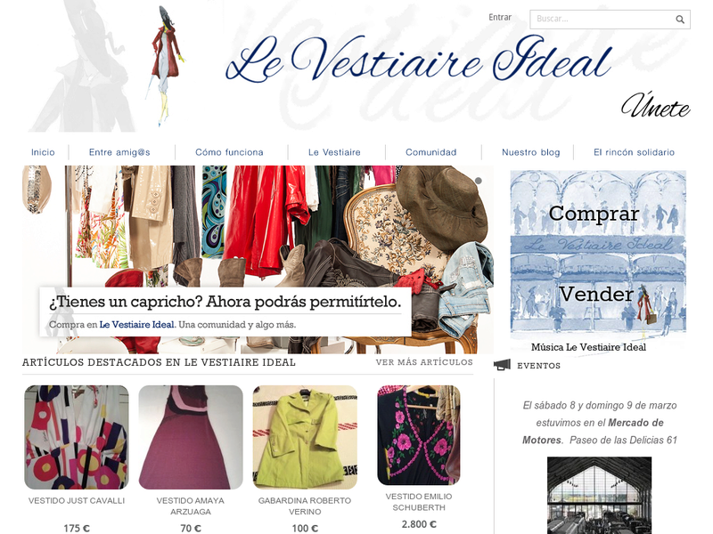 Images from Le Vestiaire Ideal