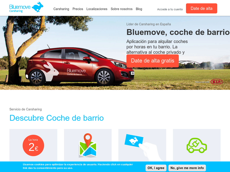Images from Bluemove Carsharing