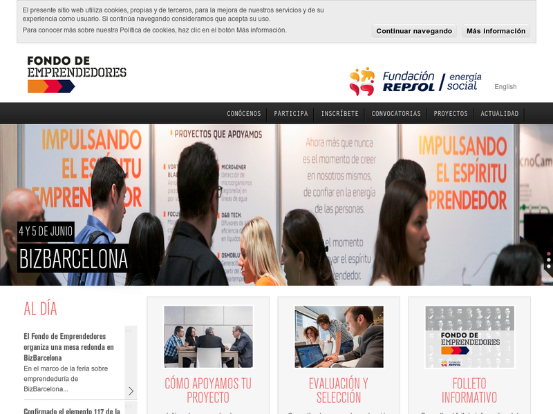 Images from Fondo de Emprendedores Fundacion Repsol