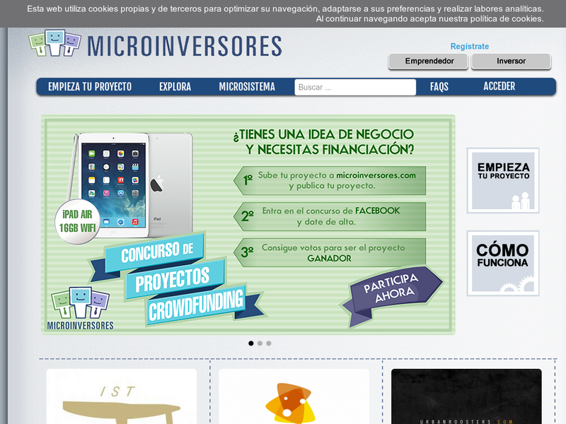 Images from Micro Inversores Crowdfunding