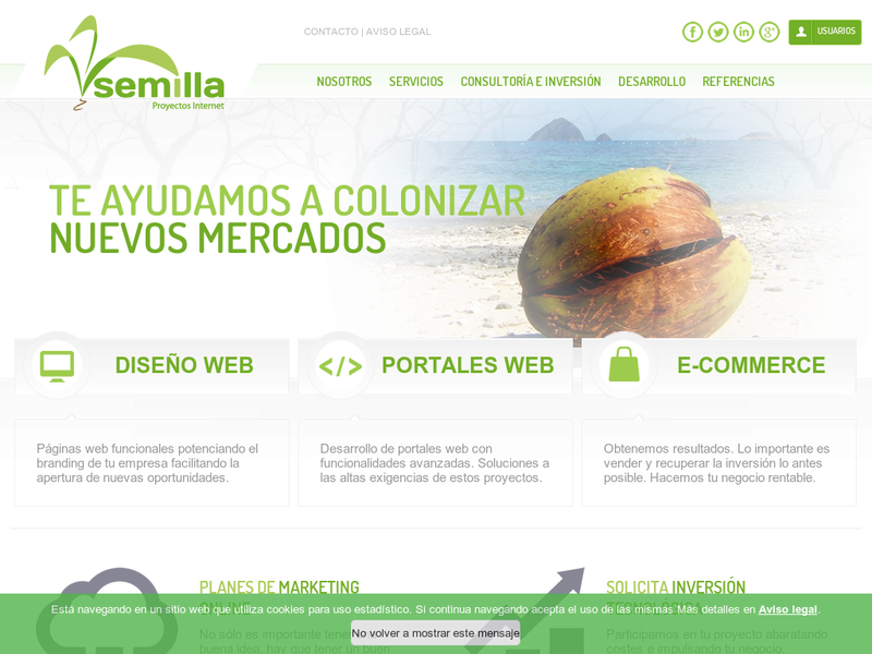 Images from Semilla Proyectos Internet
