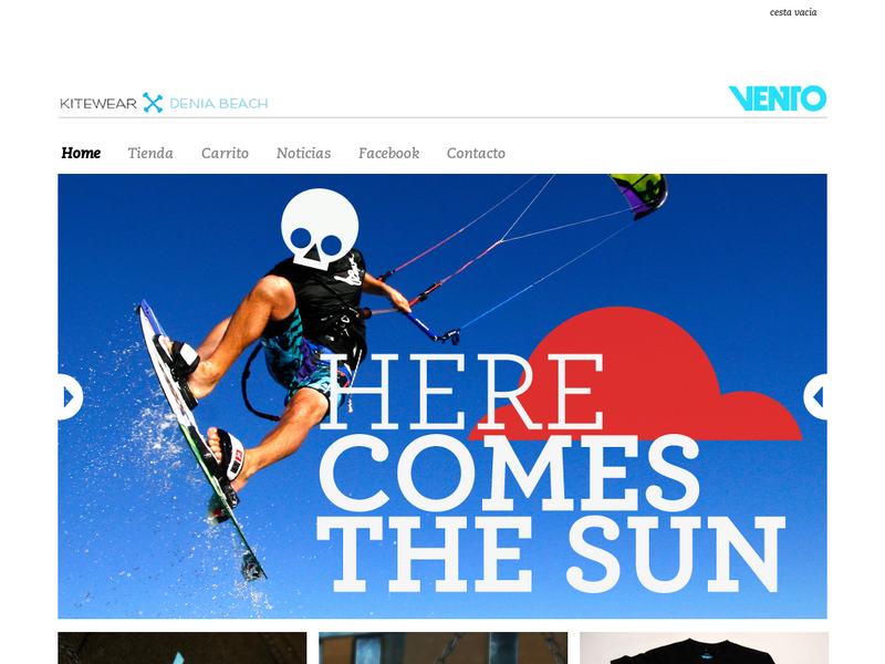 Images from Vento Kitewear