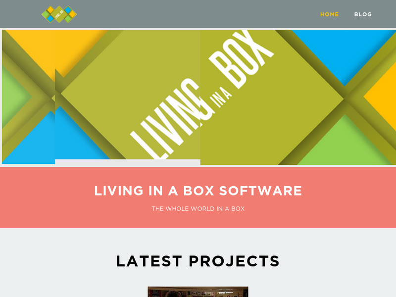 Images from Living in a Box Software