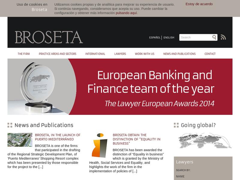 Broseta abogados su perfil en startupxplore for Oficina zurich valencia