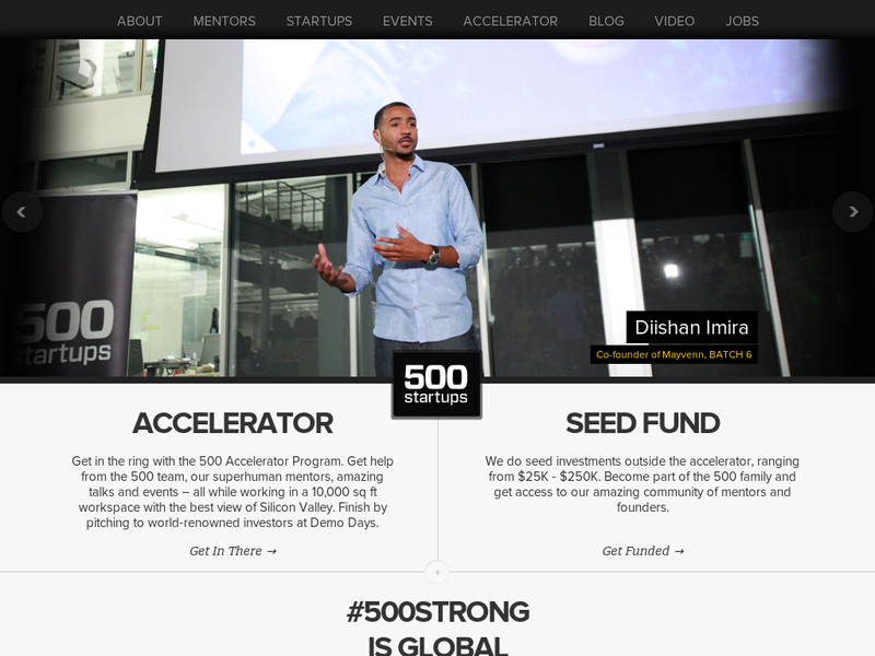 Images from 500 Startups