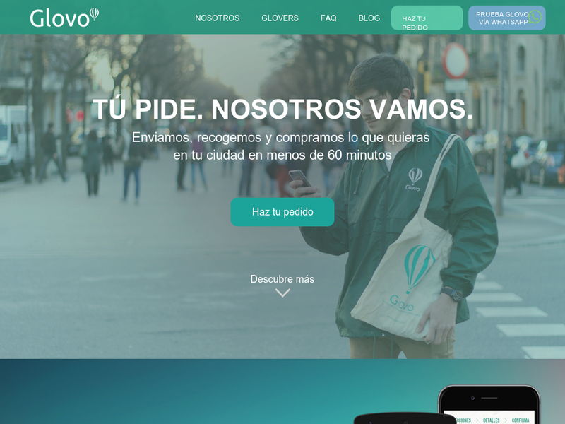 Images from Glovo