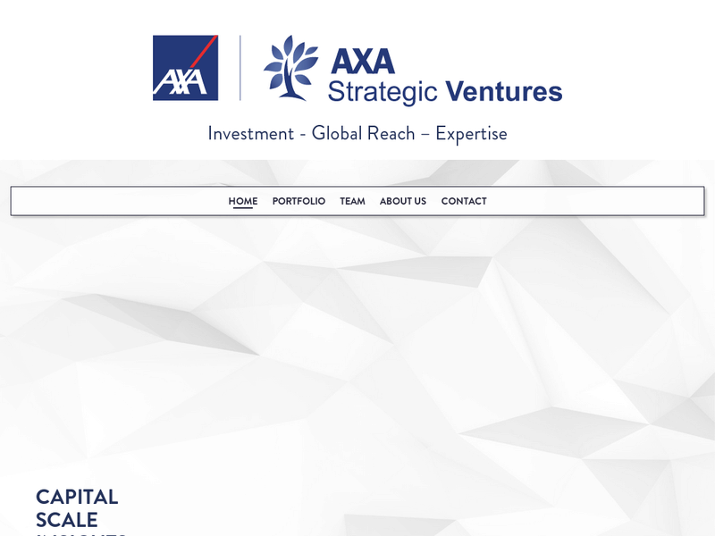 Images from AXA Strategic Ventures