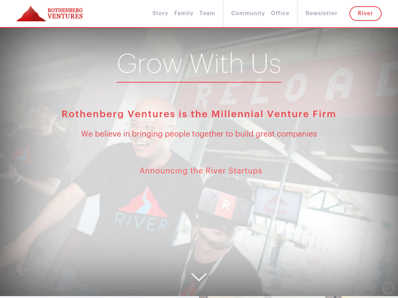 Images from Rothenberg Ventures