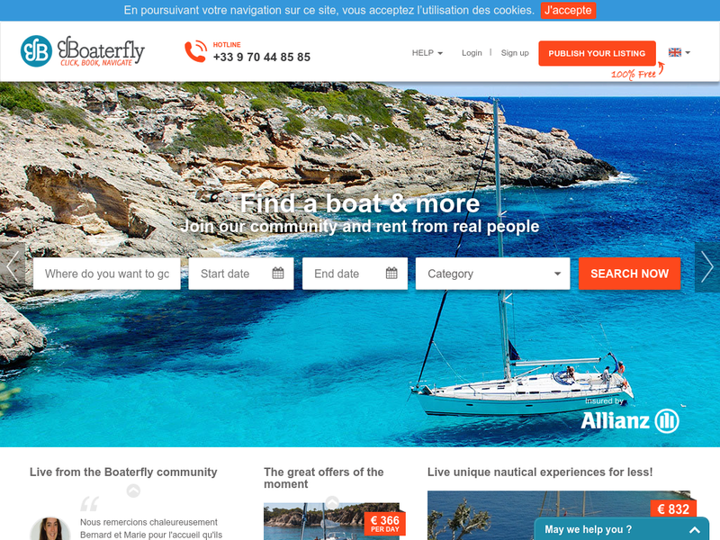 Images from Boaterfly