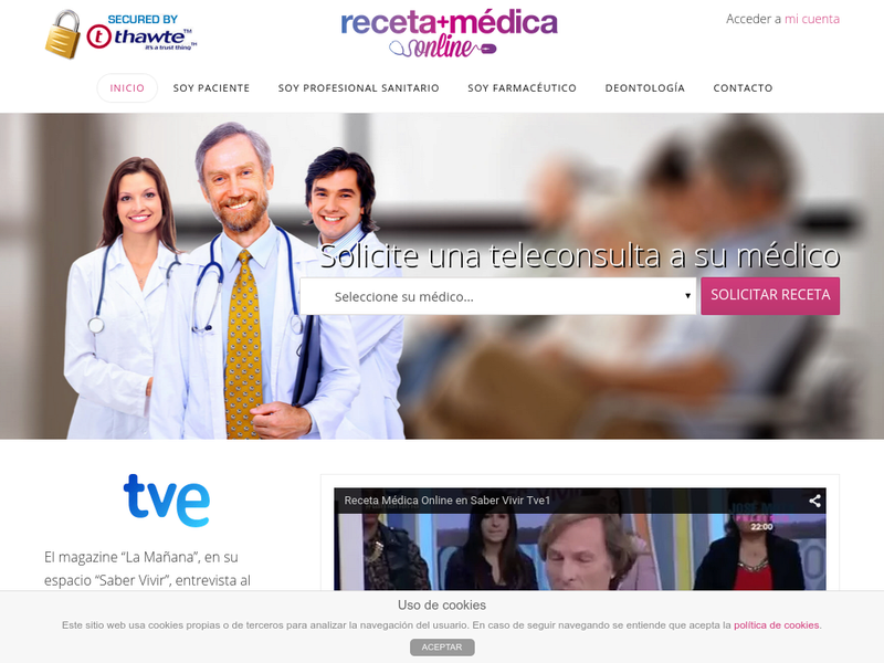 Images from Receta Medica Online