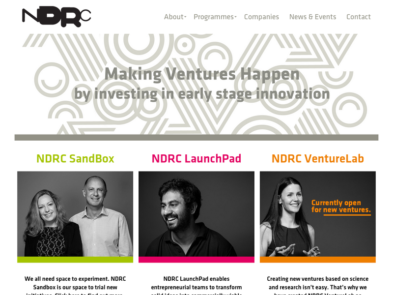 Images from NDRC LaunchPad