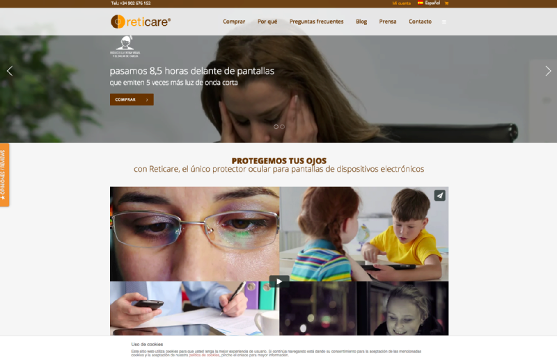 Images from Reticare