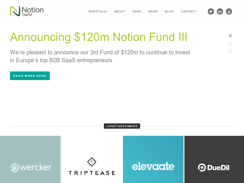 Images from Notion Capital