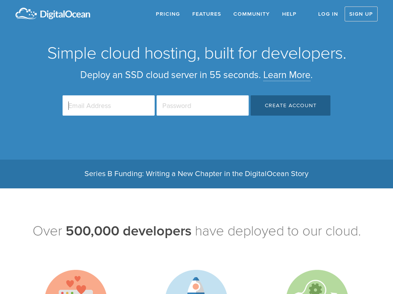 Images from DigitalOcean