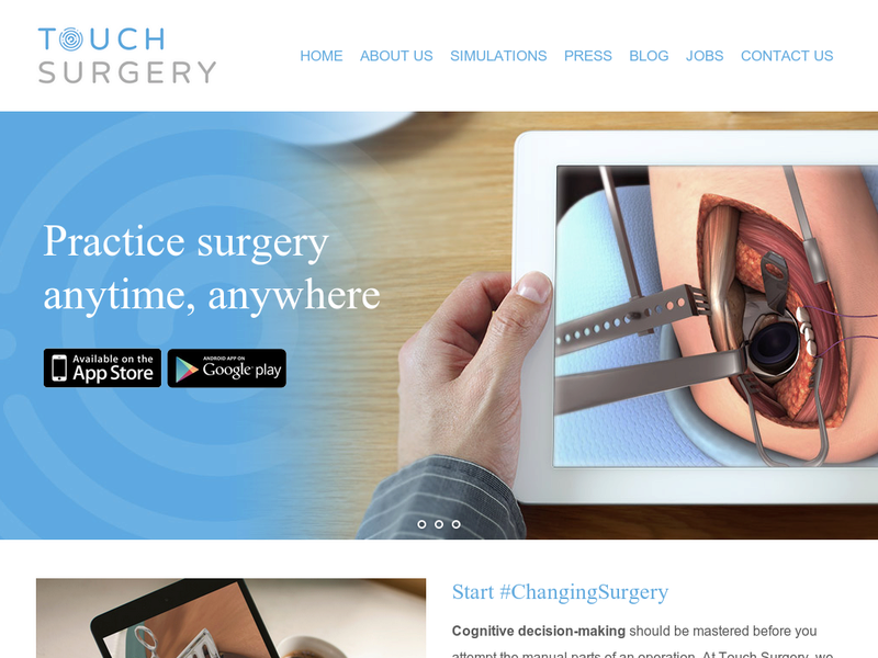 Images from Touch Surgery