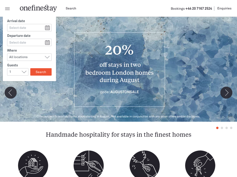 Images from onefinestay
