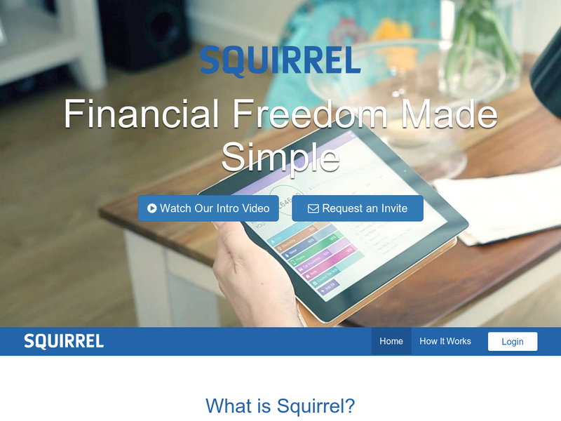 Images from Squirrel Financial Wellbeing