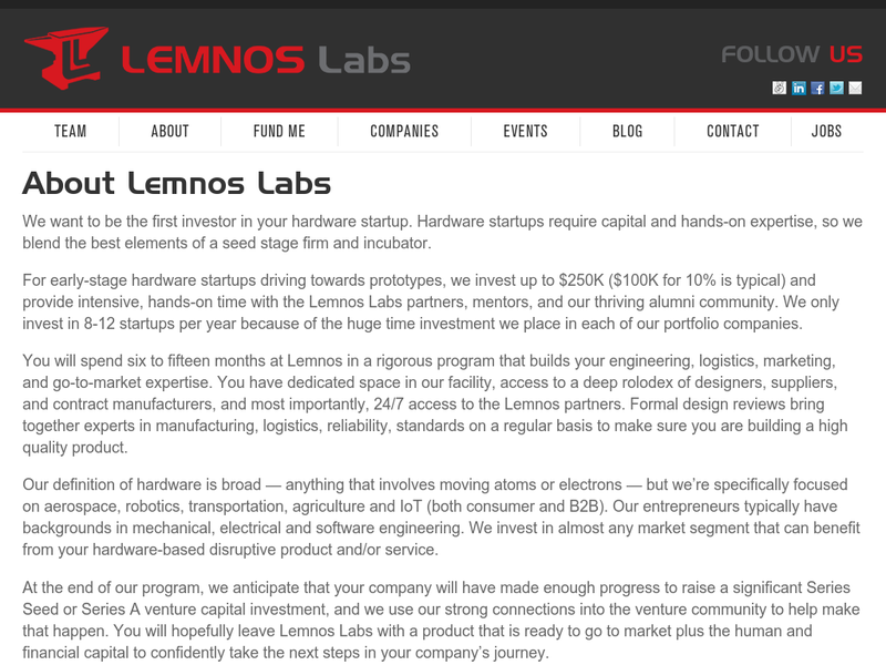 Images from Lemnos Labs