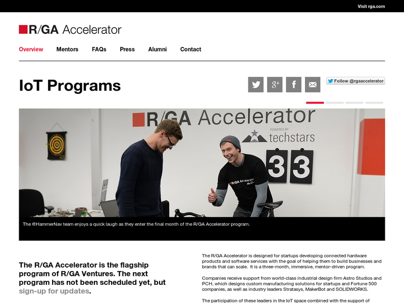 Images from R/GA Accelerator i