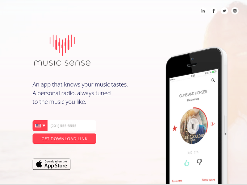 Images from Music Sense
